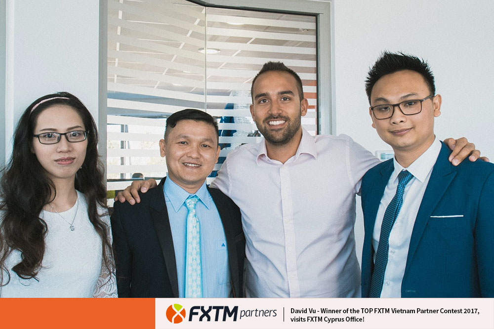 Top FXTM Vietnam Partner Contest Winner Visits Cyprus Office